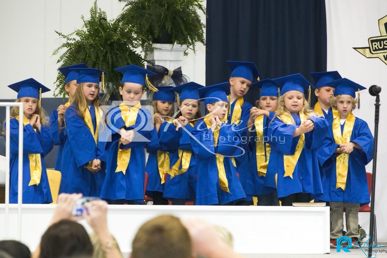 Russell Christian Academy Kindergarten Graduation